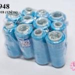 เชือกเทียนตราลูกบอล ด้ายเย็บ สีฟ้า #5018 (12ม้วน)