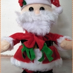 ตุ๊กตาซานต้า เต้นได้ มีเสียงเพลง