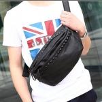กระเป๋าผู้ชายพร้อมส่ง รหัส RM9002 สีดำ สะพายเท่ห์ๆ