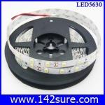 LES030 LED Strip Ribbon Flexible ยาว 5 เมตร 5630 60 LEDs/M 25-28 Lumen/chip สีขาวอมเหลือง แสงสว่างมากกว่า chip 5050(ไม่กันน้ำ)(Chip from Taiwan)