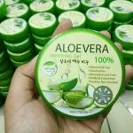 เจลว่านหางจระเข้ Aloevera soothing gel 100% ราคาปลีก 50 บาท / ราคาส่ง 40 บาท