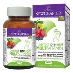 วิตามินเตรียมความพร้อม (ออร์แกนิค) สำหรับว่าที่คุณแม่ New Chapter Perfect Prenatal Multivitamin (96 เม็ด)