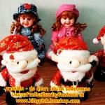 ตุ๊กตาเต้นได้ มีเสียงเพลง (สินค้ามาใหม่ล่าสุด) ถ้าซื้อ 3 ตัว ราคาส่ง 300