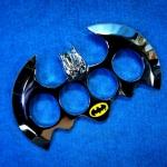 สนับมือ มนุษย์ค้างคาว (BATMAN Knuckle ) สีเงิน