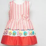 เสื้อผ้าเด็ก ชุดเดรส ชุดกระโปรงสำหรับเด็กผู้หญิง Crimson Zoo (ส่งฟรี)