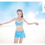 Pastel Sweet Bikini Set {Blue / M}