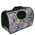 กระเป๋าน้องหมาน่ารักๆไซด์ L แมวเทา