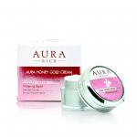 AURA RICH Aura Honey Gold Cream ครีมน้ำผึ้งทองคำ ราคาปลีก 110 บาท / ราคาส่ง 88 บาท