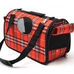กระเป๋าน้องหมาน่ารักๆไซด์ L สก็อตแดง