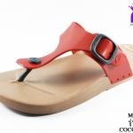 รองเท้าแตะ Monobo โมโนโบ้ รุ่น Jello เจลโล่ สีแดง เบอร์ 5-8