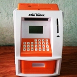 ตู้ ATM ออมสิน ขาวส้ม (ซื้อ 3 ชิ้น ราคาส่ง 500 บาท ต่อชิ้น)