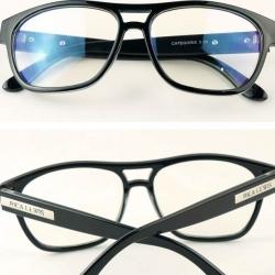 กรอบแว่นตาแฟชั่น แนวๆเรโทร วินเทจ mosc. rica (ดำเงา)
