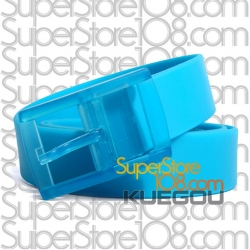 เข็มขัดซิลิโคน Candy Color Belt : สีฟ้า