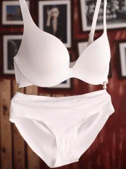 PRE ชุดชั้นในแบบเซ็ต 2 ชิ้น บรา กางเกงใน Size : 70A,B,C - 85A,B,