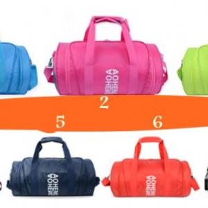SALE SALE2สี!!กระเป๋ากีฬา กันน้ำ กระเป๋าทรงหมอน กระเป๋าใส่รองเท้า กันน้ำ สี ทอง เงิน