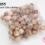 ลูกปัดไม้ กลม สีไม้ธรรมชาติ 23มิล (100เม็ด) thumbnail 1