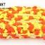 ปอมเส้นยาว สีส้ม-เหลือง กว้าง 2ซม (1พับ/18หลา) thumbnail 1
