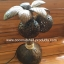 Coconut Shell Lamp (โคมไฟต้นมะพร้าว โคม 2 ลูก) thumbnail 3