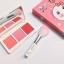 Kaxier blush mini set พาเลทบลัชออน พร้อมแปรงขนนุ่ม ราคาปลีก 180 บาท / ราคาส่ง 144 บาท thumbnail 1