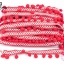 ปอมเส้นยาว ผ้าแถบ สีแดง กว้าง 2.5ซม(1พับ/20หลา) thumbnail 1