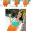 พร้อมส่ง ชุดว่ายน้ำทรงแซก เซ็ต 2 ชิ้น โทนสีเขียวส้ม ชุดแซกแต่งระบายน่ารักมากๆ (ชุดแซก + กางเกงขาสั้น) thumbnail 8
