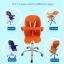 เก้าอี้ทานข้าวเด็กแบบใหม่ (สามารถนั่งและนอน) thumbnail 2