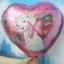 ลูกโป่งฟลอย์ทรงหัวใจ พิมพ์ลายการ์ตูน แมว Marie - Heart Shape Marie Cat Cartoon Foil Balloon / Item No. TL-B028 thumbnail 1