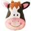 ลูกโป่งฟลอย์ หน้าวัว - Cow Face Foil Balloon / Item No. TL-B045 thumbnail 1