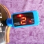 เครื่องตั้งสาย จูนเนอร์ Tuner สีดำ ฟ้า ม่วง อูคูเลเล่ Ukulele กีต้าร์ Guitar เบส Bass AROMA AT-100 thumbnail 7