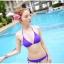 พร้อมส่ง ชุดว่ายน้ำ Bikini ผูกข้าง สายคล้องคอ สุดเซ็กซี่ thumbnail 9