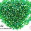 ลูกปัดจีน กลม สีเขียวเหลือบรุ้ง 2มิล #S(5กรัม) thumbnail 1