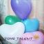 """ลูกโป่งหัวใจ สีมาตรฐาน คละสี ไซส์ 11 นิ้ว แพ็คละ 10 ใบ (Heart Latex Balloon - Mixed Standard Color 11"""") thumbnail 9"""