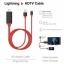 สายแปลงสัญญาณ Lightning HDMi To TV Lightning Digital AV Adapter Cable !!!! ใช้งานง่าย ต่อแล้วออกทีวีเลย thumbnail 2