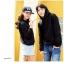 เสื้อกันหนาวคู่รักพร้อมส่ง แฟชั่นคู่รัก ชาย +หญิงเสื้อกันหนาวแบบสวม มีฮูด สีดำ thumbnail 5