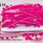 ปอมเส้นยาว ผ้าแถบ สีบานเย็น กว้าง 2.5ซม (1พับ/20หลา) thumbnail 1