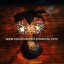 Coconut Shell Lamp (โคมไฟต้นมะพร้าว โคม 2 ลูก) thumbnail 1