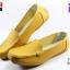 รองเท้าแฟชั่นหุ้มส้น CSB ซีเอสบี รุ่น LK92-541 สีเหลือง เบอร์ 36-40 thumbnail 1