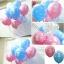 """ลูกโป่งกลมพิมพ์ลาย 1st Birthday สีชมพูอ่อน แพ็คละ 10 ใบ(Round Balloons 12"""" - Printing 1st Birthday Light Pink color) thumbnail 3"""