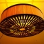 โคมไฟไม้ไผ่แขวนเพดาน Bamboo Ceiling Lamp (BCL005) thumbnail 1
