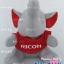 ตุ๊กตาพรีเมี่ยม RICOH ตุ๊กตาช้างนั่ง ใส่เสื้อ สูง8นิ้ว D5505Q1600 thumbnail 2