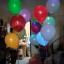 ลูกโป่ง LED สีส้ม แพ็ค 5 ชิ้น ไฟกระพริบ Blink mode (Orange Color Balloons - LED Blink Mode) thumbnail 3