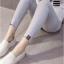 PK114206 กางเกงสกีนนี่คนท้องโทนสีเทา มีผ้าพยุงท้อง thumbnail 3