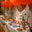 """ลูกโป่งจัมโบ้ สีส้ม ขนาด 24 นิ้ว - Round Jumbo Balloon Orange 24"""" สำเนา thumbnail 1"""