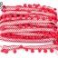 ปอมเส้นยาว ผ้าแถบ สีแดง กว้าง 2.5ซม(1หลา/90ซม) thumbnail 1