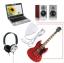 USB Guitar Link Cable for PC / MAC ต่อกีตาร์เพิ่มเอฟเฟค (สีดำ) thumbnail 3