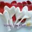 """ลูกโป่งหัวใจ เนื้อสแตนดาร์ทคละสีแดง และสีขาว ไซส์ 12 นิ้ว แพ็คละ 10 ใบ (Heart Latex Balloon - Mixed Red & White Color 12"""") thumbnail 2"""