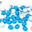 เพชรแต่ง ทรงรี สีน้ำเงิน มีรู 8X10มิล(20ชิ้น) thumbnail 1
