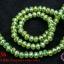คริสตัลจีน ทรงซาลาเปา สีเขียวใบตองอ่อน 6 มิล (1เส้น) thumbnail 1