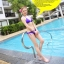 พร้อมส่ง ชุดว่ายน้ำ Bikini ผูกข้าง สายคล้องคอ สุดเซ็กซี่ thumbnail 3