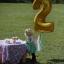 """ลูกโป่งฟอยล์รูปตัวเลข 0 สีทอง ไซส์จัมโบ้ 40 นิ้ว - Number 0 Shape Foil Balloon Size 40"""" Gold Color thumbnail 8"""